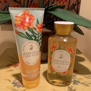 Bath & Body Works FALL 2021 Marigold & Sugar Duo